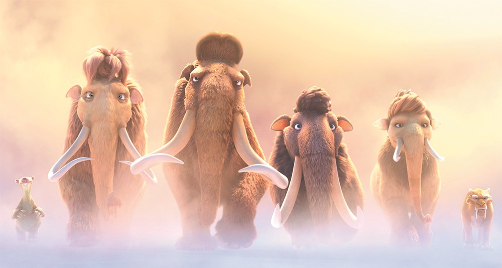 Even the mastadons are getting tired of the Ice Age franchise.
