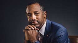 Ben Carson thinks Hillary Clinton might inject a little Satanism into the White House.