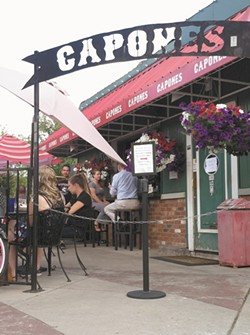 The area's  name was coined at Capone's. - CARRIE SCOZZARO