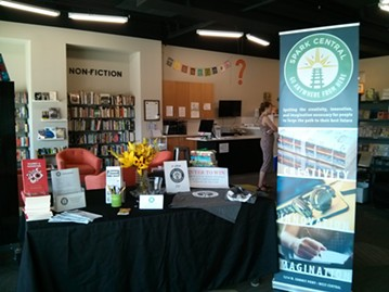 Spark Central celebrated its rebranding with a community event on Friday, July 29. - CHEY SCOTT