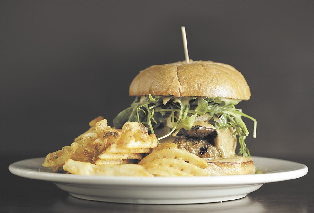 Dr. G's Gourmet Burger from Downriver Grill. - YOUNG KWAK