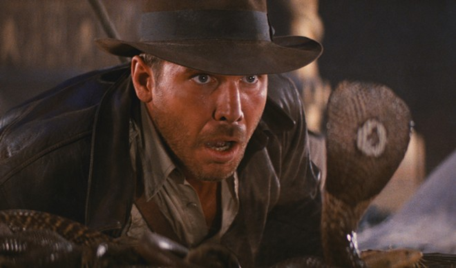 Raiders of the Lost Ark plays on the big screen of the Garland Theater Tuesday and Thursday.
