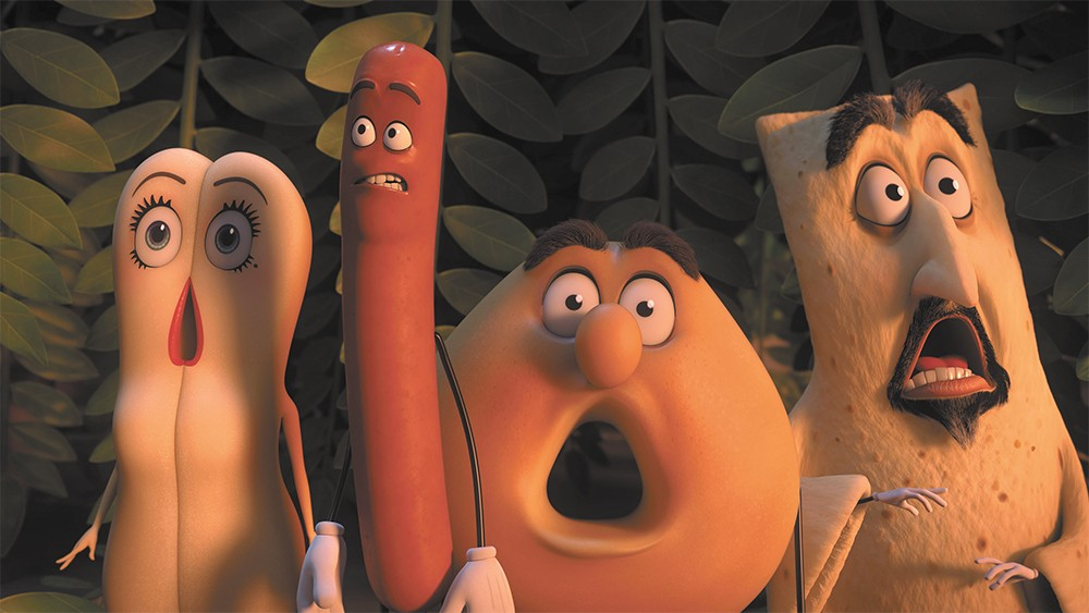 Sausage Party is a stoner comedy, through and through.