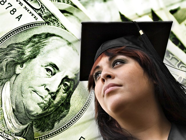 Students who take out loans in Washington state graduated with an average debt load lower than the national average.