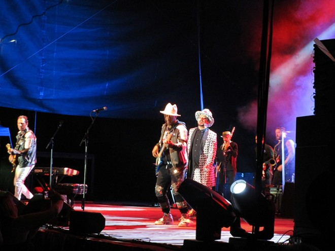 Culture Club at Northern Quest Resort & Casino Friday. - DAN NAILEN