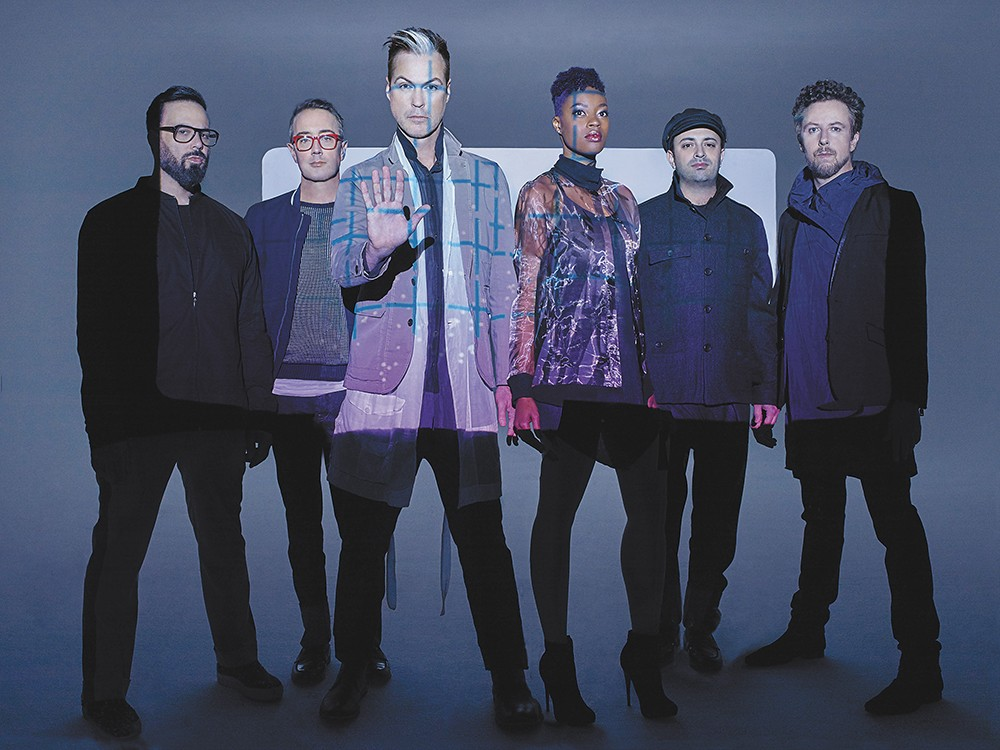 On Tuesday, Fitz and the Tantrums are here to make your hands clap.