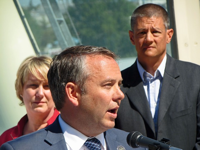 Recall charges were filed against Mayor David Condon Tuesday. - DANIEL WALTERS PHOTO