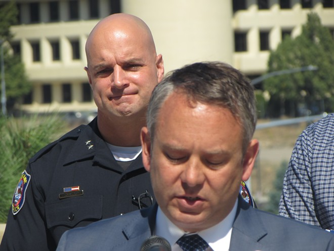 Meidl's confirmation will have to wait, mayor agrees. - DANIEL WALTERS PHOTO