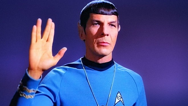 A documentary about Leonard Nimoy, made by his son Adam, screens at the Garland Theater Saturday.