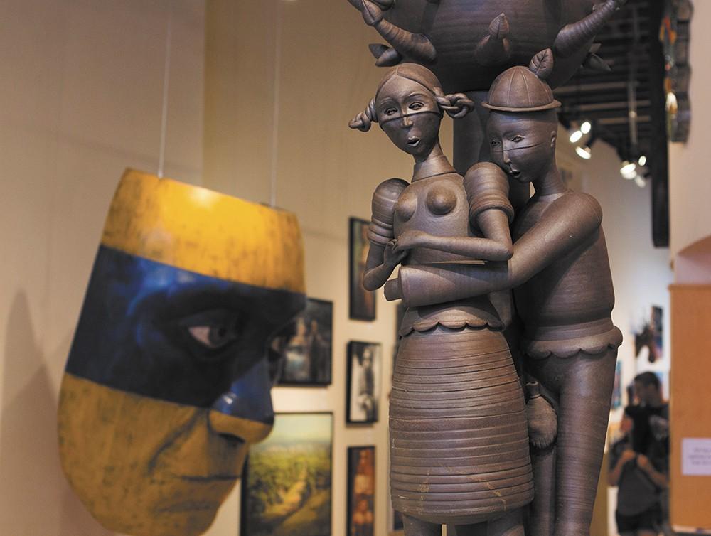 The Art Spirit is North Idaho's preeminent art gallery. - EMMA ROGERS
