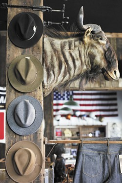 Thrux Lawrence's Stetson hats. - YOUNG KWAK
