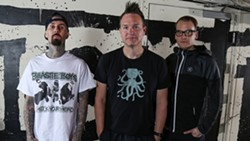 Blink-182's new lineup now includes Alkaline Trio guitarist/vocalist Matt Skiba.