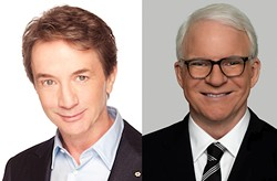 Martin Short (left) and Steve Martin will not be getting wild and crazy in Spokane after all.