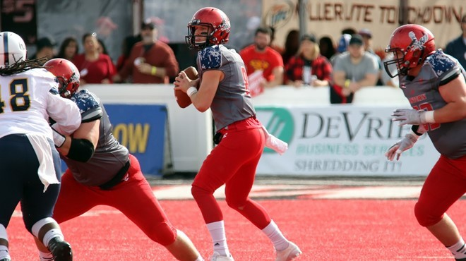 Gage Gubrud is EWU's ace new quarterback. - EWU ATHLETICS
