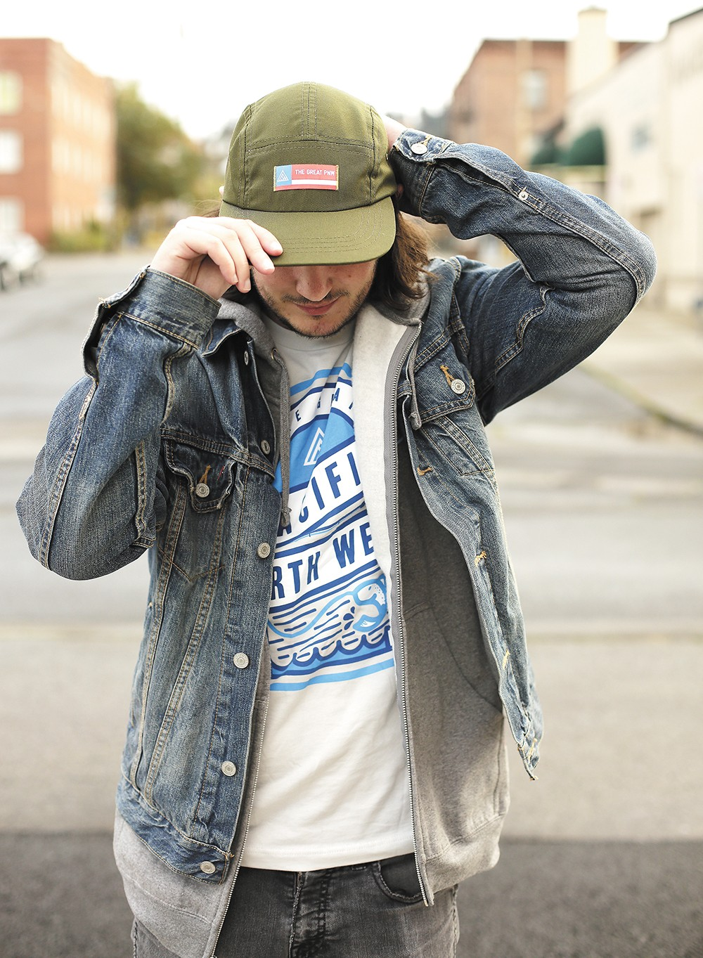 People stop Joel Barbour, the Great PNW founder, all the time wondering where he got his hat or T-shirt. - YOUNG KWAK