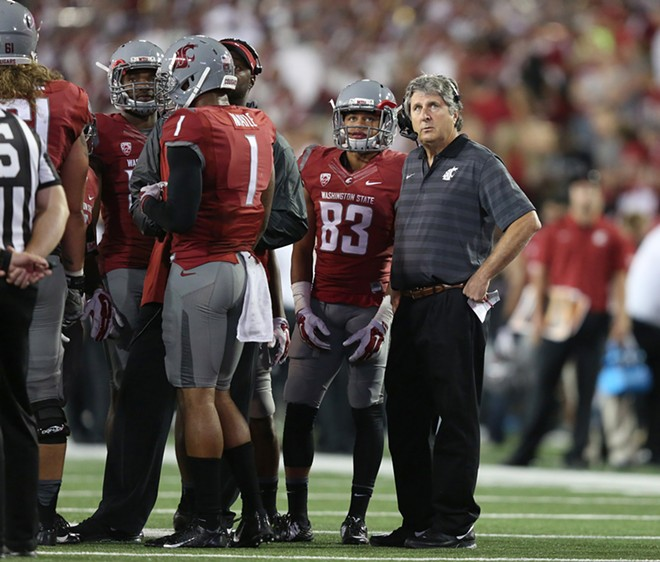 Head Coach Mike Leach