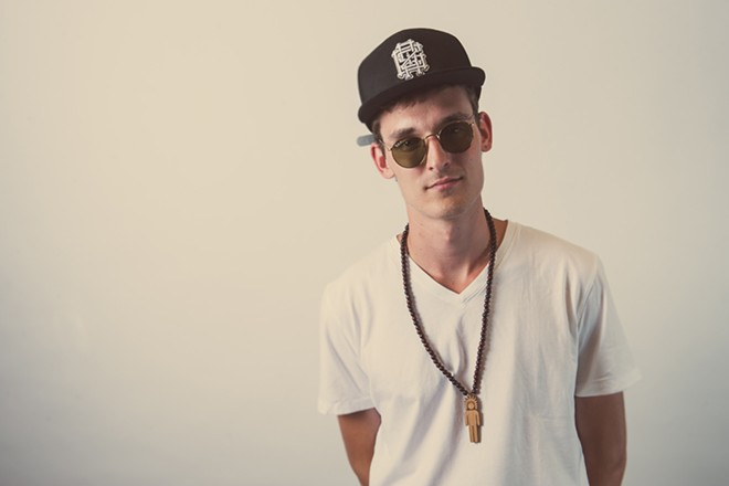 GRiZ headlines a night of booming beats at the Knitting Factory Tuesday.
