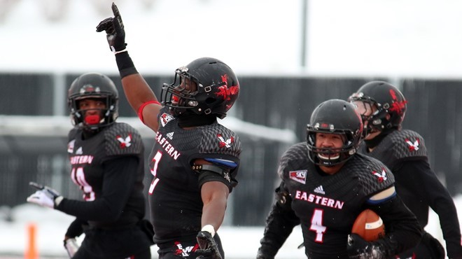 Eastern Washington is in the final four of the FCS playoffs, and host Youngstown State on Saturday. - EWU ATHLETICS