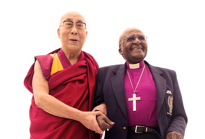The Dalai Lama and Archbish0p Desmond Tutu are featured in a new book that might be the perfect last-minute gift you need.
