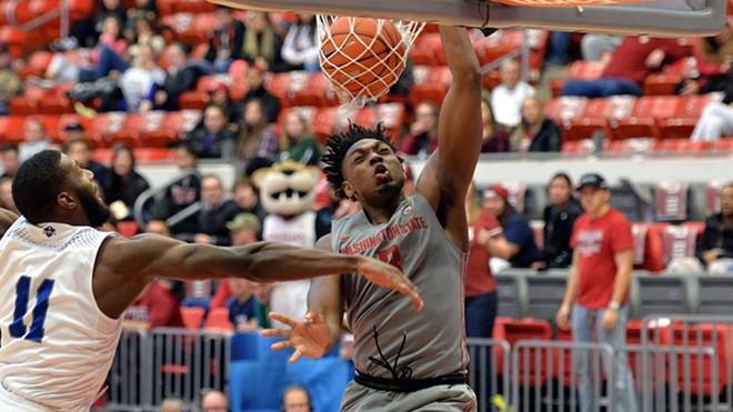 Washington State's men's basketball team hosts Oregon State at the Spokane Arena Wednesday night.