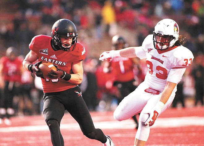 EWU receiver Cooper Kupp is the national offensive player of the year.