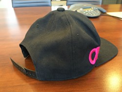 Ryan Holyk's hat - MITCH RYALS PHOTO