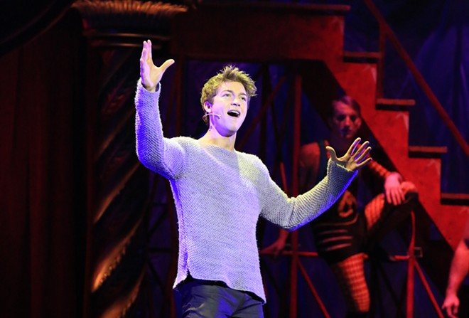 Naysh Fox plays the title character in Pippin.