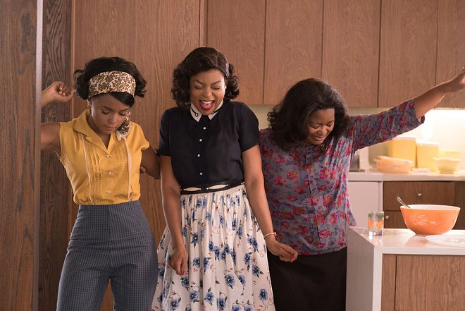Hidden Figures is up for Best Picture, and Octavia Spencer (right) earned a nomination for Best Supporting Actress.