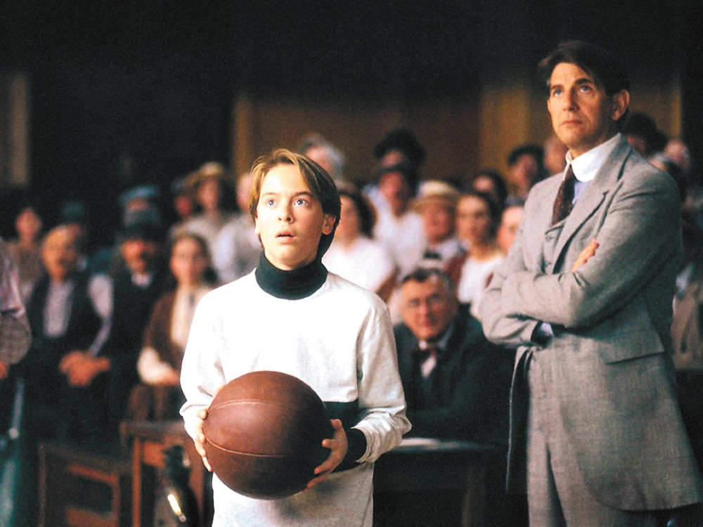 Peter Coyote (right) starred in The Basket, the 1999 film directed by Rich Cowan.