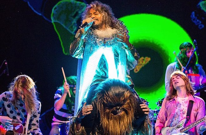 Prepare to get weird. Flaming Lips are headed to Spokane.