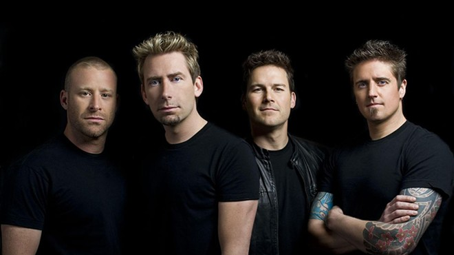 Nickelback is ... back