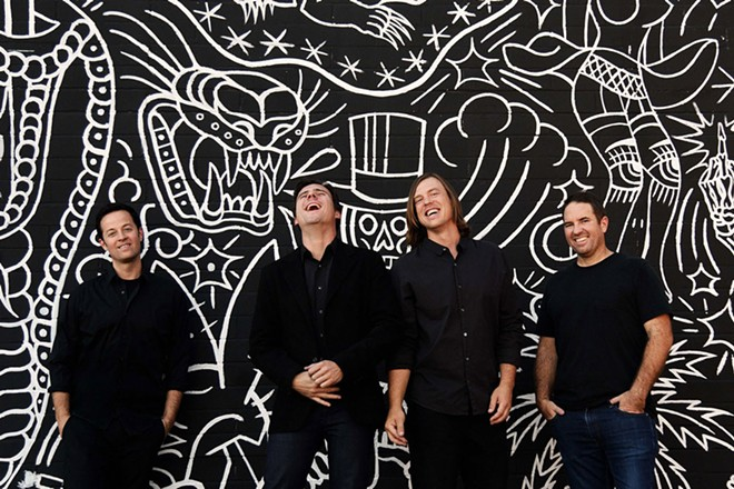 Jimmy Eat World headlines The Knitting Factory on April 25.