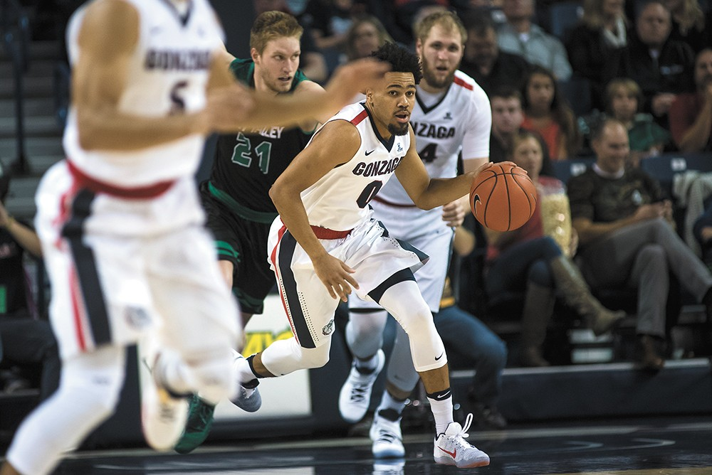 """There may not be such a thing as a """"good loss,"""" but the Zags head to Vegas with new motivation. - AUSTIN ILG"""