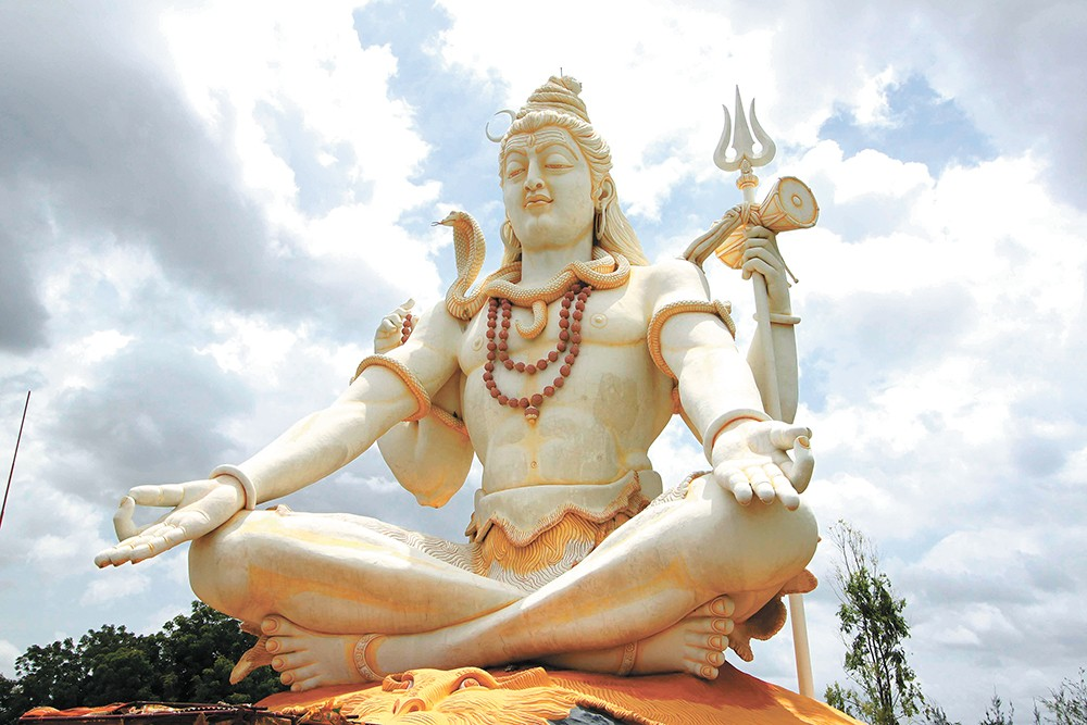 Cannabis is considered a gift from Shiva.