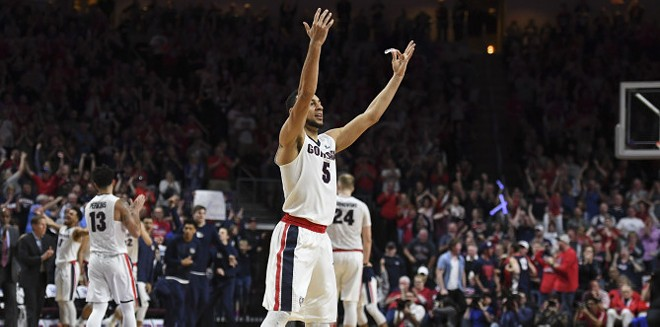 Nigel Williams-Goss and the Gonzaga Bulldogs won the WCC tournament and will head to the NCAA tourney once again, possibly as a No. 1 seed. - GONZAGA ATHLETICS
