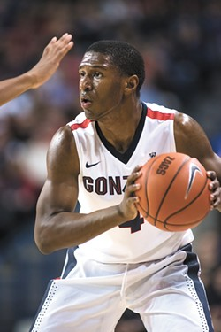 Jordan Mathews is one of the key transfers on this year's Gonzaga team. - AUSTIN ILG