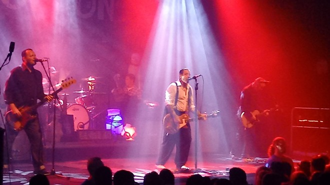 Social Distortion got the packed Knitting Factory into a sweaty mess within a couple songs. - DAN NAILEN