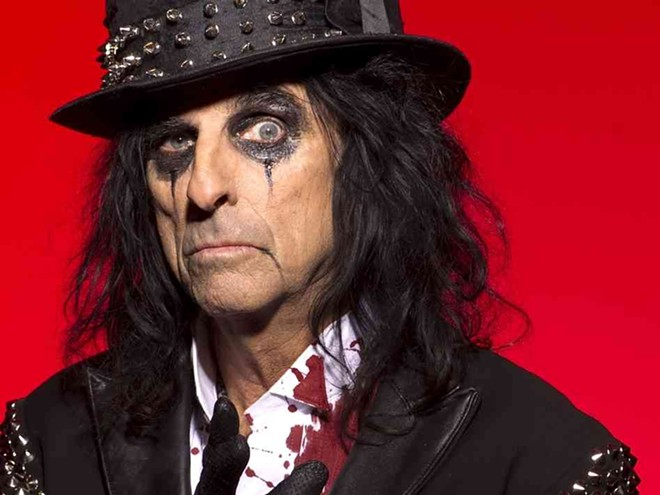 Alice Cooper kicks off this summer's shows at Northern Quest.