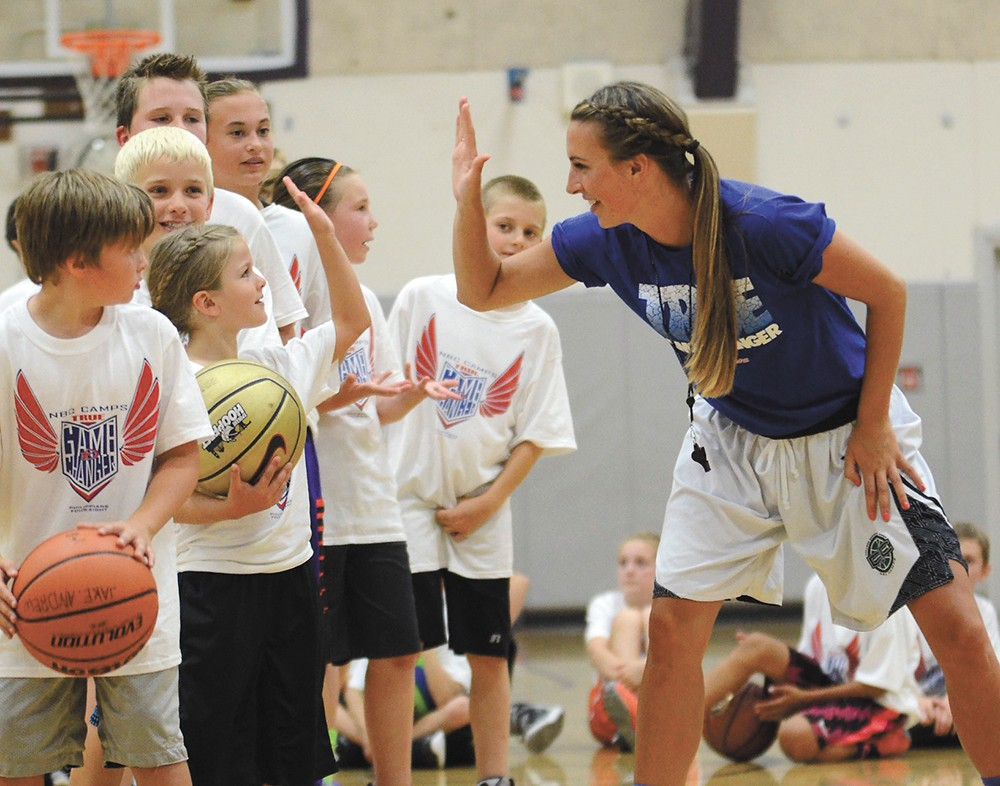 NBC Camps offer a variety of local basketball sessions for kids of all ages.