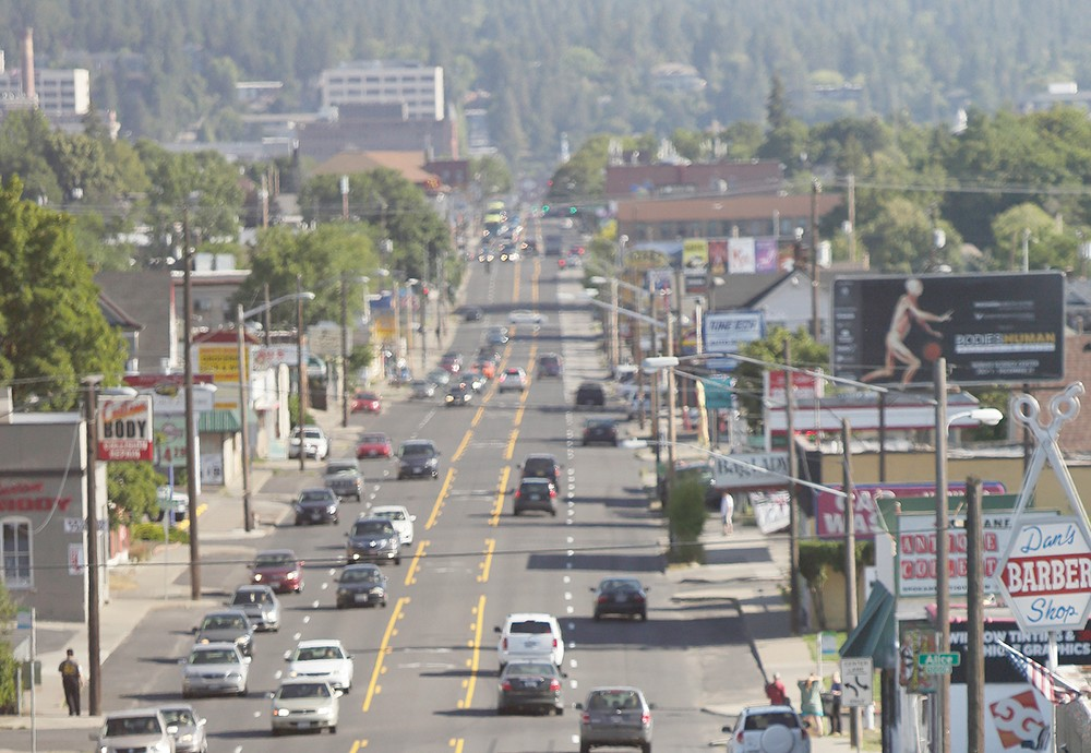 """North Monroe is potentially undergoing a """"road diet."""""""