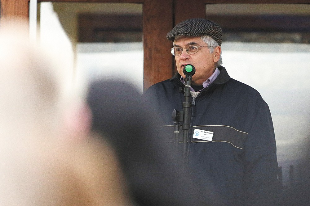 After serving as executive director for the Spokane County Democrats for more than a year, Jim CastroLang has resigned amid a major campaign finance controversy. - YOUNG KWAK