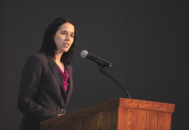 Shelly O'Quinn is taking a job as CEO of the Inland Northwest Community Foundation. - YOUNG KWAK