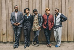San Francisco R&B collective Afrolicious is a highlight of this year's Elkfest lineup.