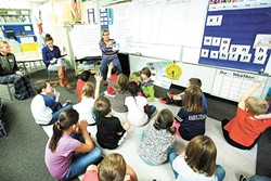 Spokane Public Schools may need to add several more elementary schools to alleviate overcrowding. - YOUNG KWAK PHOTO