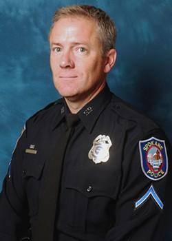 Officer John O'Brien - COURTESY OF SPD