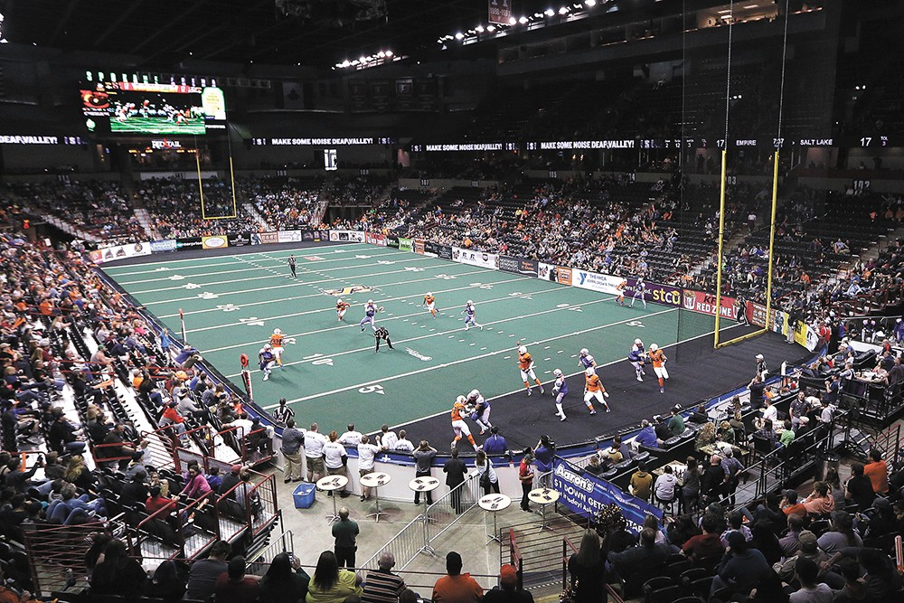 The Empire beat the Salt Lake Screaming Eagles in a thriller on Sunday. Next up: Sioux Falls. - YOUNG KWAK