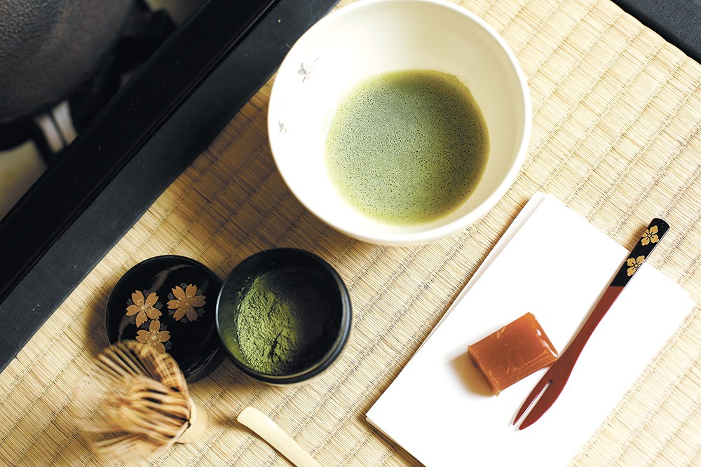 A traditional matcha tea ceremony follows several prescribed steps. - YOUNG KWAK
