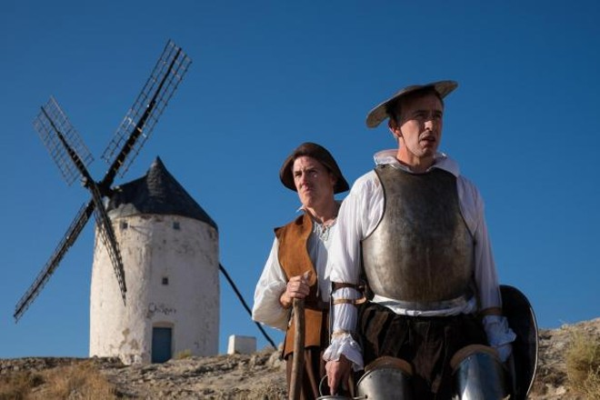 Rob Brydon and Steve Coogan in The Trip to Spain.
