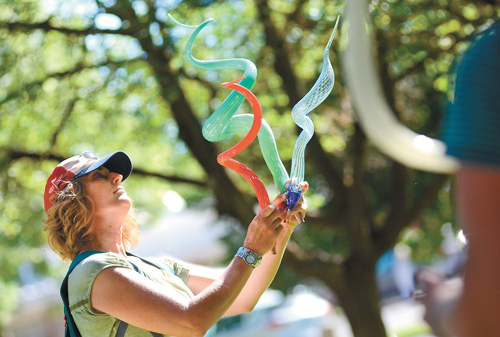 ArtFest runs Friday through Sunday in Coeur d'Alene Park in Browne's Addition. - MIKE SALSBURY