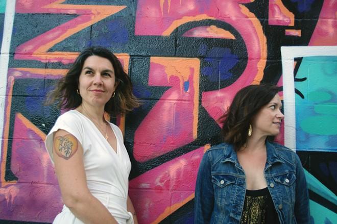 Rachel Weinstein and Katie Brunelle, founders of the Adulting School in Maine.